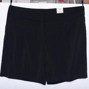 NWT Alfani Plus Tummy Control Black Shorts 24W